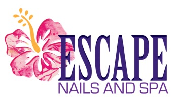 Escape Nails and Spa logo